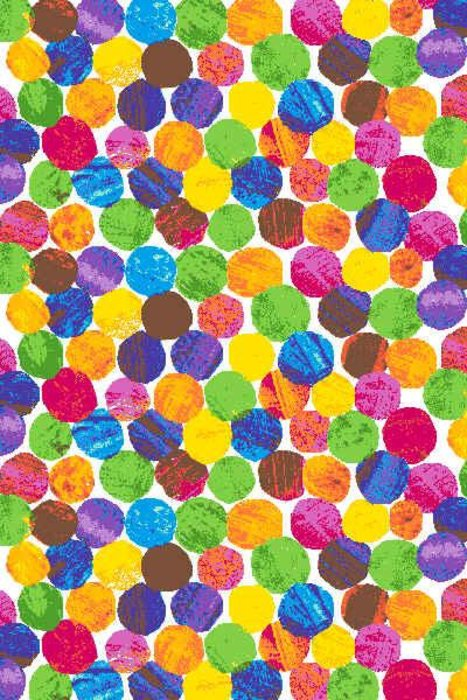 Color Dots Fabric