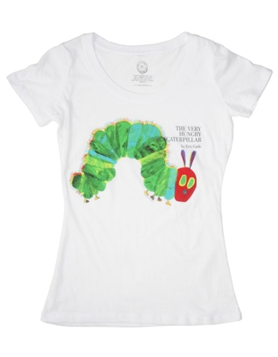 Very Hungry Caterpillar Ladies T-Shirt