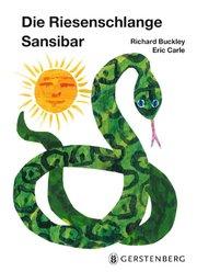 The Greedy Python (Board Book) - GERMAN