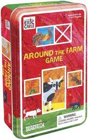 Eric Carle's Around the Farm Game Tin