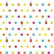 Caterpillar Squares Fabric