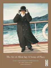 Allen Say Exhibition Poster