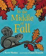In the Middle of Fall (Board Book)
