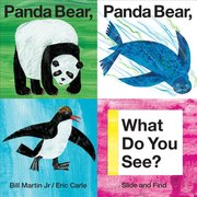 Panda Bear Slide and Peek Board Book