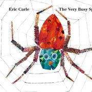 Very Busy Spider (Lap Sized Board Book)
