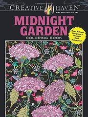 Midnight Garden Coloring Book