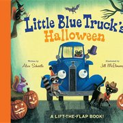 Little Blue Truck's Halloween (Board Book)