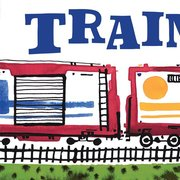 Trains Go (Board Book)