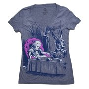 Alice in Wonderland Ladies T-Shirt