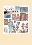Mo Willems Postcard - Inspiration