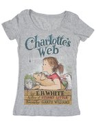 Charlotte's Web Ladies T-Shirt