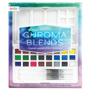 Chroma Blends Travel Watercolor Palette