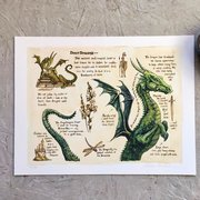 Astrid Sheckels Limited Edition Print - Draco Draconis