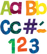 Eric Carle EZ Paper Letters & Numbers Pack