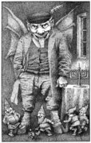 Maurice Sendak Print - Devil