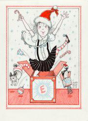 Eloise Christmas Notecard Set