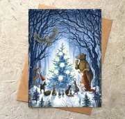 Enchanted Tree Card
