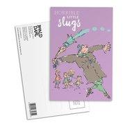 Matilda Postcard - Horrible Little Slugs