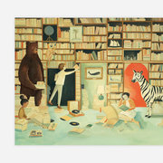 Emily Winfield Martin Print - Imaginaries Library