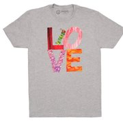 Very Hungry Caterpillar LOVE Adult T-Shirt