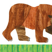 Brown Bear Canvas Wall Art