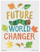 Eric Carle Poster - Future World Changer