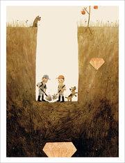 Jon Klassen Print - Sam & Dave Dig a Hole