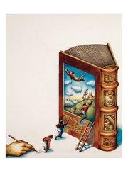 Uri Shulevitz Postcard - Book
