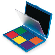 7-Color Washable Ink Stamp Pad