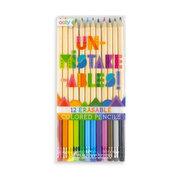 Unmistake-ables Erasable Colored Pencils