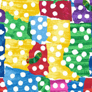 Very Hungry Caterpillar Holes Fabric