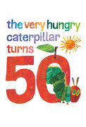 Very Hungry Caterpillar 50th Anniversary Postcard