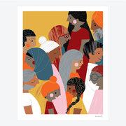 Meenal Patel Print - We the People