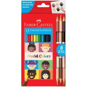 World Colors Colored Pencils (Set of 15)