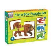 Eric Carle Brown Bear 4-in-1 Puzzle