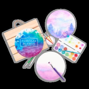Chroma Circular Watercolor Pad
