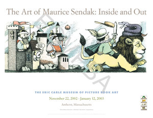 Maurice Sendak Exhibition Poster