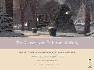 Chris Van Allsburg Exhibition Poster