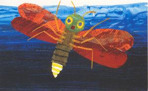 Eric Carle Postcard - Firefly