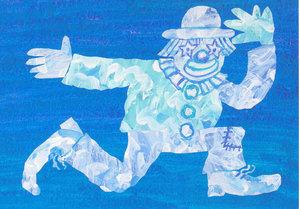 Eric Carle Postcard - Cloud