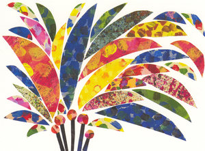 Eric Carle Postcard - Bouquet
