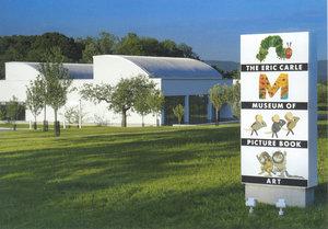 Carle Museum Postcard - Exterior