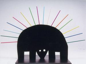 Porcupine Sculpture