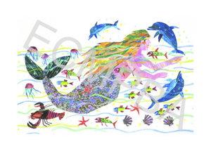 Mermaid Limited Edition Print