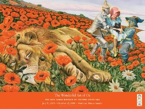 The Wonderful Art of Oz Exhibition Poster