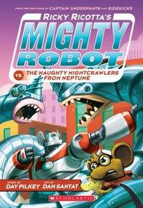 Ricky Ricotta #8 Naughty Nighcrawlers (Paperback)