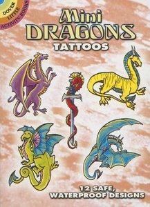 Mini Dragon Tattoos