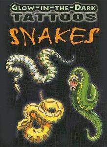 Glow-in-Dark Snake Tattoos
