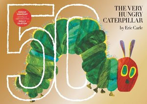 The Very Hungry Caterpillar Gold 50th Anniversary Edition