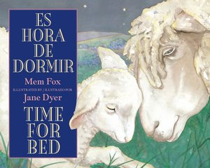 Time for Bed Spanish/English Board Book